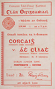 All Ireland Senior Hurling Championship Final,.Brochures,.03.09.1944, 09.03.1944, 3rd September 1944, .Cork 2-13, Dublin 1-2, .Senior Cork v Dublin, .Croke Park, 0391944AISHCF, .