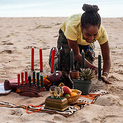 Kwanzaa at Brewer's Bay Beach