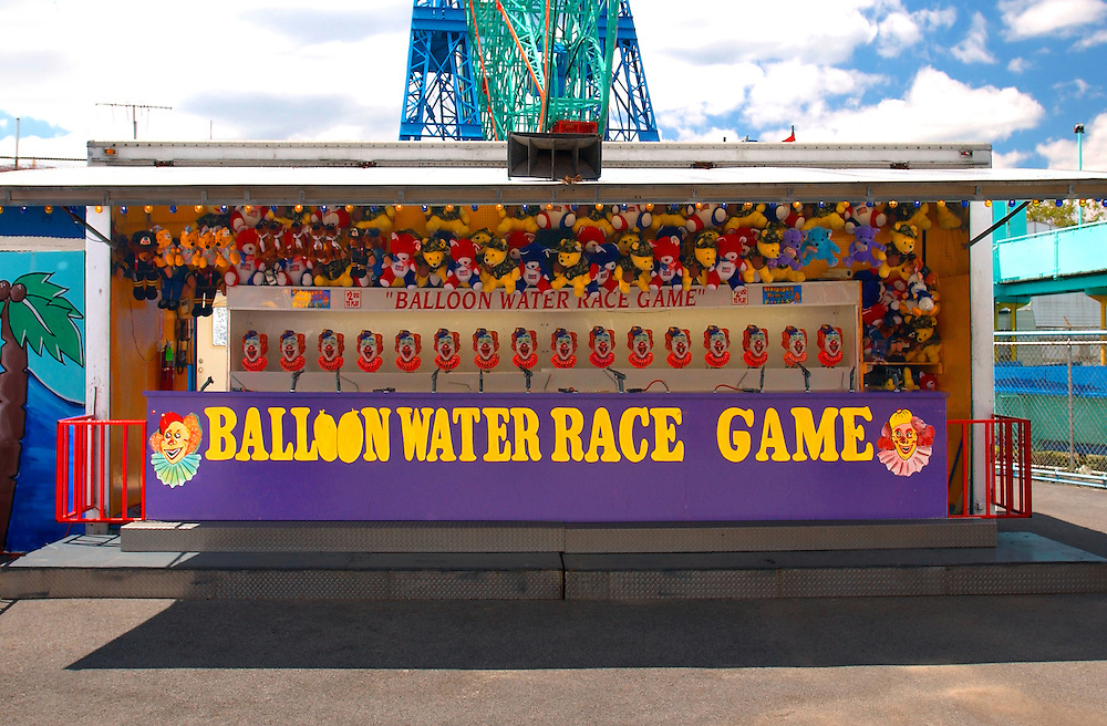 Coney Island New York Balloon Water Race Game