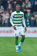 Boli Bolingoli (#23) of Celtic FC during the Ladbrokes Scottish Premiership match between Livingston FC and Celtic FC at The Tony Macaroni Arena, Livingston, Scotland on 6 October 2019.