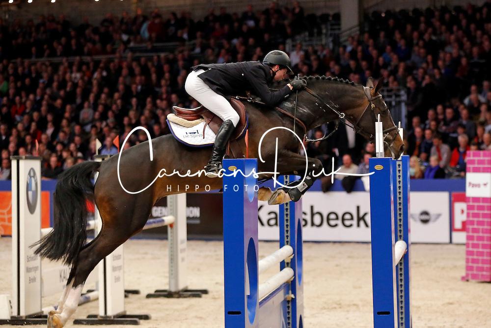 Sleiderink Sjaak (NED) - El Salvador<br /> KWPN Stallion Selection - 's Hertogenbosch 2014<br /> © Dirk Caremans