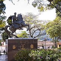 Plaza Bolivar de Cordero, Tachira, Venezuela.