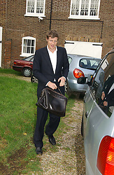 ZAC GOLDSMITH at the wedding of Lucy Ferry to Robin Birley held at Ormsby Lodge, Ham Gate Avenue, Ham, Surrey on 26th October 2006.<br />