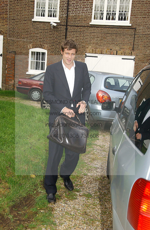 ZAC GOLDSMITH at the wedding of Lucy Ferry to Robin Birley held at Ormsby Lodge, Ham Gate Avenue, Ham, Surrey on 26th October 2006.<br /><br />NON EXCLUSIVE - WORLD RIGHTS
