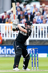 Henry Nicholls of New Zealand - Mandatory by-line: Robbie Stephenson/JMP - 14/07/2019 - CRICKET - Lords - London, England - England v New Zealand - ICC Cricket World Cup 2019 - Final