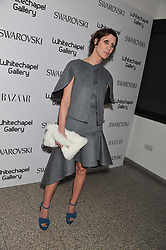 Valeria Napoleone at the Swarovski Whitechapel Gallery Art Plus Fashion fundraising gala in support of the gallery's education fund held at The Whitechapel Gallery, 77-82 Whitechapel High Street, London E1 on 14th March 2013