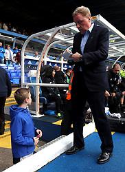 Birmingham City manager Harry Redknapp signs autographs