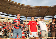 Stade Toulousain fans. Toulouse v Castres, Top 14, Demi-Finale, Stade Municipal, Toulouse, France, June 2nd 2012