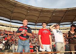 Stade Toulousain fans. Toulouse v Castres, Top 14, Demi-Finale, Stade Municipal, Toulouse, France, June 2nd 2012