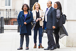 London, October 29 2017. Shadow Home Secretary Diane Abbott leave the BBC via a back entrance after appearing on the Andrew Marr Show © Paul Davey