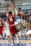 DESCRIZIONE : Roseto Degli Abruzzi Giochi del Mediterraneo 2009 Mediterranean Games Turchia Italia Turkey Italy Final Men<br /> GIOCATORE : Pietro Aradori<br /> SQUADRA : Italia Italy<br /> EVENTO : Roseto Degli Abruzzi Giochi del Mediterraneo 2009<br /> GARA : Turchia Italia Turkey Italy <br /> DATA : 04/07/2009<br /> CATEGORIA : penetrazione<br /> SPORT : Pallacanestro<br /> AUTORE : Agenzia Ciamillo-Castoria/C.De Massis<br /> Galleria : Giochi del Mediterraneo 2009<br /> Fotonotizia : Roseto Degli Abruzzi Giochi del Mediterraneo 2009 Mediterranean Games Turchia Italia Turkey Italy Final Men <br /> Predefinita :