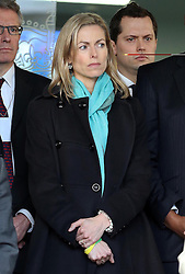 Kate McCann at the publication of The Leveson Inquiry report at  the QEII conference centre in London Thursday, 29th November 2012. .Photo by:  Stephen Lock /  i-Images