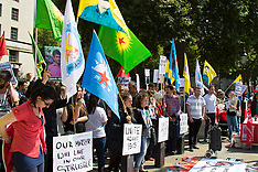 "2015-07-25 Kurds protest in London against ""Turkish support for ISIS"""
