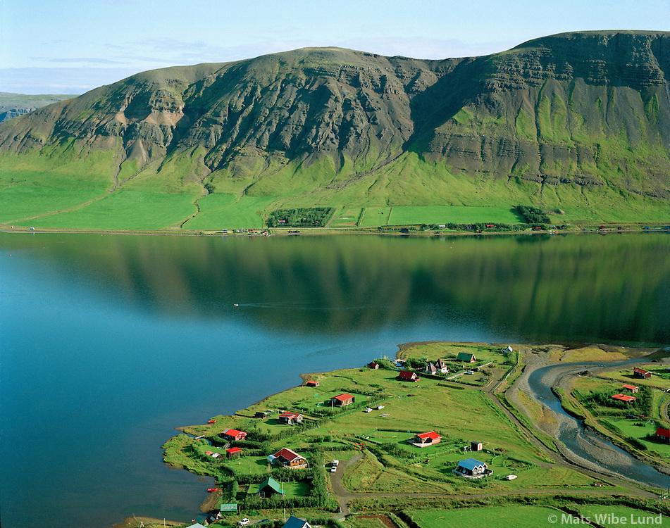 Sumarb?staðir Grjóteyri, Meðalfellsvatn, Kjósarhreppur..Holiday homes Grjoteyri, lake Medalfellsvatn, Kjosarhreppur