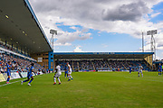 General view of play during the EFL Sky Bet League 1 match between Gillingham and Coventry City at the MEMS Priestfield Stadium, Gillingham, England on 25 August 2018.