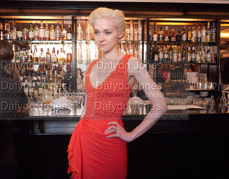 PORTIA FREEMAN, The launch of the Belvedere Bloody Mary Brunch to London's Caprice. Le Caprice. Arlington st. London. 7 April 2011.  -DO NOT ARCHIVE-© Copyright Photograph by Dafydd Jones. 248 Clapham Rd. London SW9 0PZ. Tel 0207 820 0771. www.dafjones.com.
