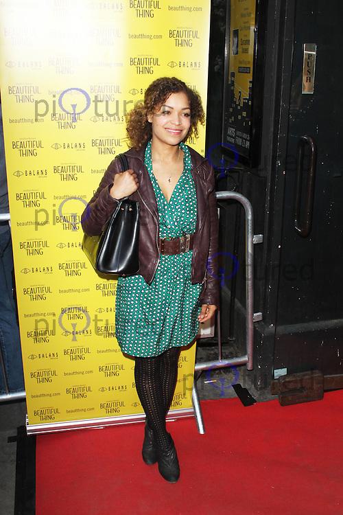 LONDON - April 17: Anthonia Thomas at the Beautiful Thing - Press Night (Photo by Brett D. Cove)
