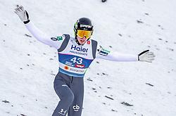 23.02.2019, Bergiselschanze, Innsbruck, AUT, FIS Weltmeisterschaften Ski Nordisch, Seefeld 2019, Skisprung, Herren, im Bild Timi Zajc (SLO) // Timi Zajc of Slovenia during the men's Skijumping HS130 competition of FIS Nordic Ski World Championships 2019. Bergiselschanze in Innsbruck, Austria on 2019/02/23. EXPA Pictures © 2019, PhotoCredit: EXPA/ JFK
