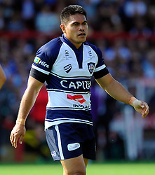 Bristol Winger David Lemi - Photo mandatory by-line: Joe Meredith/JMP - Mobile: 07966 386802 - 7/09/14 - SPORT - RUGBY - Bristol - Ashton Gate - Bristol Rugby v Worcester Warriors - The Rugby Championship