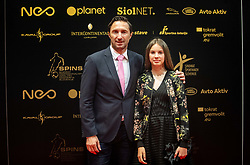Damjan Medica during SPINS XI Nogometna Gala 2019 event when presented best football players of Prva liga Telekom Slovenije in season 2018/19, on May 19, 2019 in Slovene National Theatre Opera and Ballet Ljubljana, Slovenia. Photo by Vid Ponikvar / Sportida