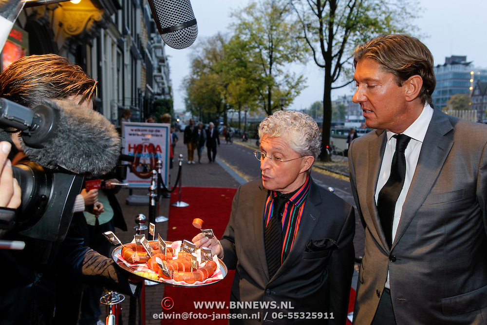 NLD/Amsteram/20121021- Premiere HEMA de Musical, Jacques d' Ancona test de Hema worst