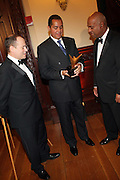 l to r: AndreW Glaser, R. Donahue Peeples and Noel Hankin at The 2009 NV Awards: A Salute to Urban Professionals sponsored by Hennessey held at The New York Stock Exchange on February 27, 2009 in New York City. ....
