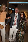TONI GARRN; GILES DEACON; TANIA FARES, The Neo Romantic Art Gala in aid of the NSPCC. Masterpiece. Chelsea. London.  30 June 2015