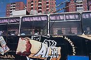 Mongolia. Ulaanbaatar. Public transport in Ulaanbaatar  Mongolia