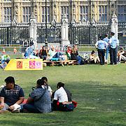 Day 8 Extinction Rebellion continue at Parliament, 22 April 2019,  London, UK