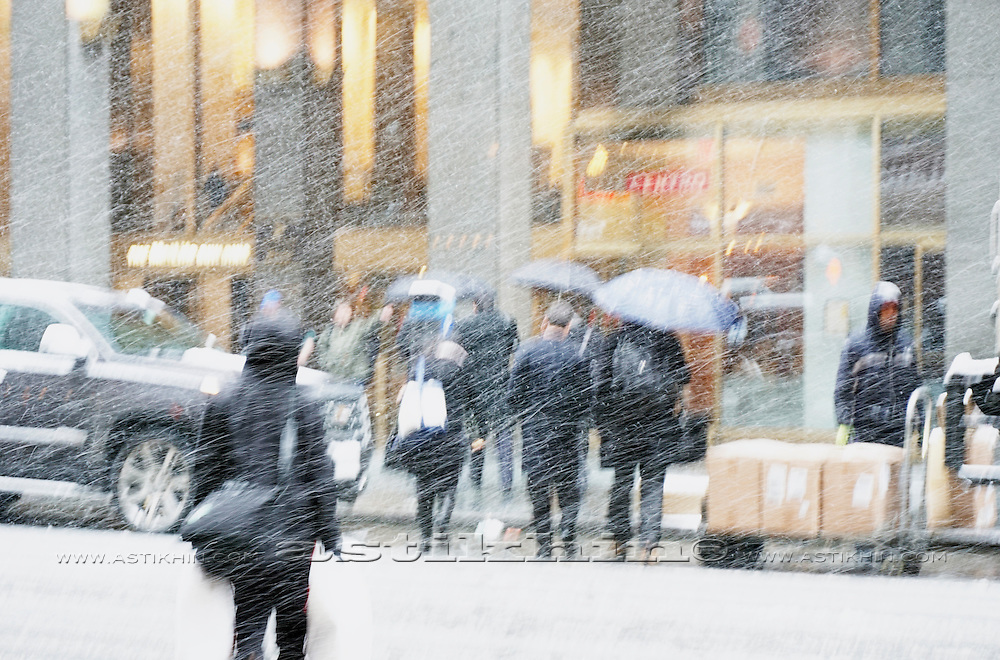 New York Winter Snow Storm