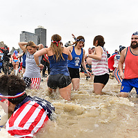 Special Olympics Chicago Polar Plunge at North Ave. Beach, Chicago, Ill. Sunday, March 3, 2019.<br /> <br /> To download, use password: thankyou