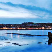 Bangor panoramic city skyline