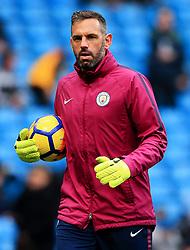 Manchester City goalkeeping coach Richard Wright - Mandatory by-line: Matt McNulty/JMP - 23/12/2017 - FOOTBALL - Etihad Stadium - Manchester, England - Manchester City v Bournemouth - Premier League