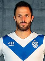 Argentina Football League First Division - Axion Energy 2016-2017 / <br /> Club Atletico Velez Sarsfield - <br /> Juan Martinez