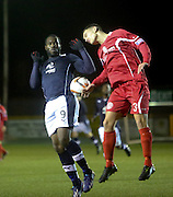 Christian Nade - East Stirling v  Dundee, SPFL reserve league at <br /> Recreation Park<br /> <br />  - &copy; David Young - www.davidyoungphoto.co.uk - email: davidyoungphoto@gmail.com