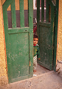 Green Gate Boy, Grape Valley, Taklamakan Desert, China, 1996
