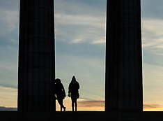 Calton Hill Sunrise | Edinburgh | 24 February 2017