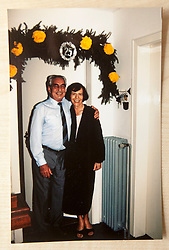 Pic of David's mum and dad, James Buchanan McAllister and Mechthild McAllister on their silver wedding anniversary. COLLECT PICS from the half-Scottish Prime Minister David McAllister of Lower Saxony..©Michael Schofield.