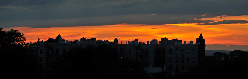 Sunset in Brooklyn