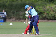 Yorkshire Diamonds Alyssa Healy during the Vitality T20 Blast North Group match between Lancashire Thunder and Yorkshire Vikings at Liverpool Cricket Club, Liverpool, United Kingdom on 13 August 2019.