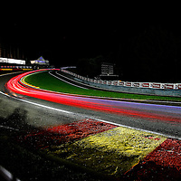 Long exposure at the Blancpain Endurance Series, Spa 24 Hours.