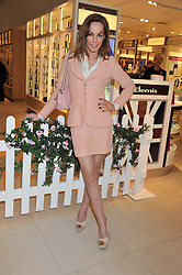 TARA PALMER-TOMKINSON at the launch of the new John Lewis Beauty Hall, John Lewis, Oxford Street, London on 8th May 2012.