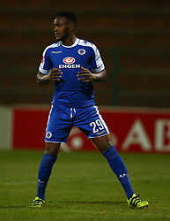 Morgan Gould of SuperSport United during the 2016 Premier Soccer League match between Supersport United and The Free Stat Stars held at the King Zwelithini Stadium in Durban, South Africa on the 24th September 2016<br /> <br /> Photo by:   Steve Haag / Real Time Images