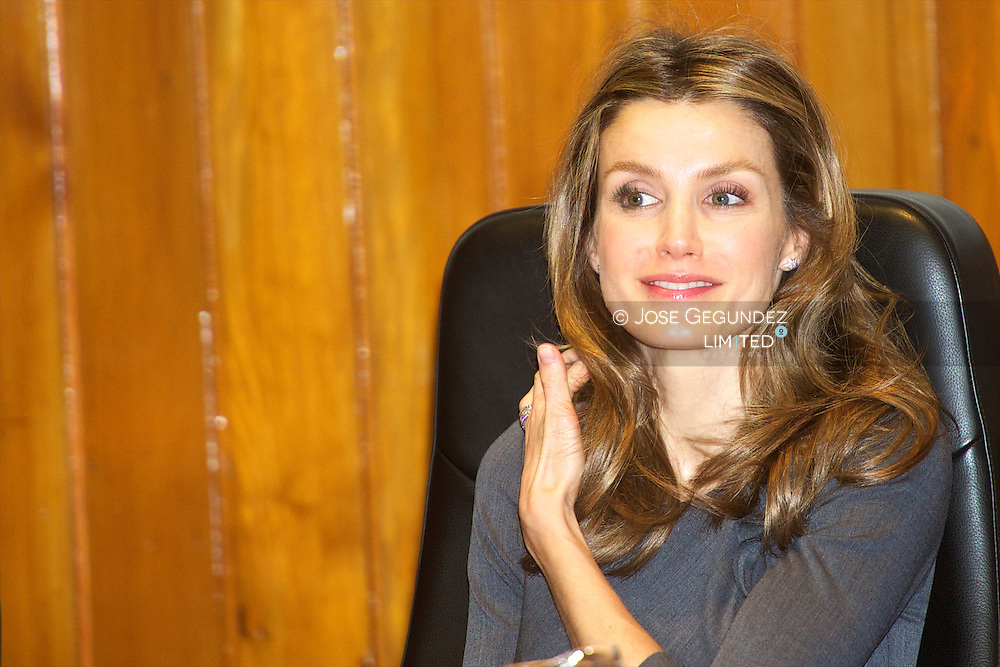 """Prince Felipe and Princess Letizia attended the Opening in Spain the """"European Year of Volunteers 2011"""" at Ministry of Health in Madrid"""