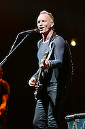 "NICE - FRANCE: Sting Performs during the ""Back to Bass"" Tour at Palais Nikaia in Nice on November 12, 2012 - Photo by Tony Barson / BarsonImages"