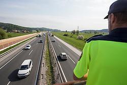 Akcija Hitrost z AVP in SENP, on April 25, 2018 in Slovenia. Photo by Urban Urbanc / Sportida