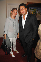 LUCA DEL BONO and CHRISTINA McLEAN at the Grand Classics presentation of Ken Loach's Oscar winning film 'Closely Observed Trains' held at the Electric Cinema, Portobello Road, London W11 on 9th July 2007.<br />