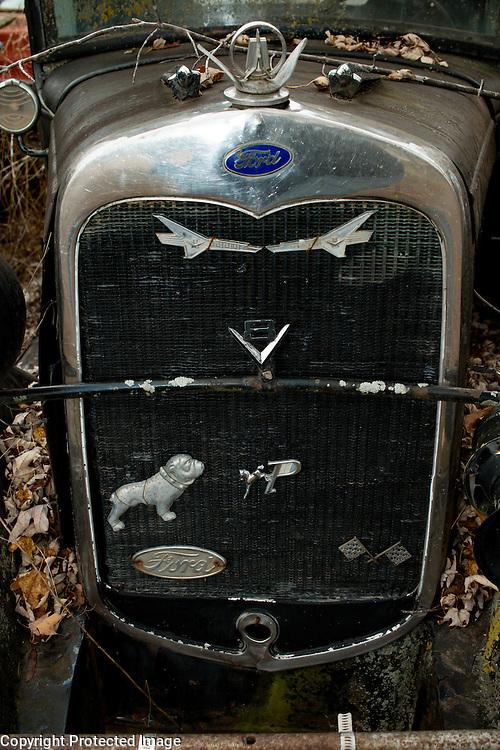 Ford Model T truck in Arkansas