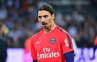 Zlatan IBRAHIMOVIC - 05.04.2015 - Marseille / Paris Saint Germain - 31eme journee de Ligue 1<br />Photo : Dave Winter / Icon Sport