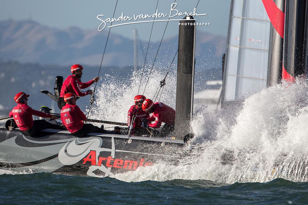 Saterday October 6th. AC45 World Series San Francisco (Oct. 2-7).